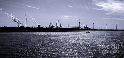 Photograph - Hook Of Holland Shipping Canal by Lexa Harpell