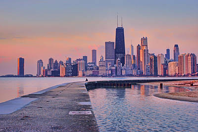 Photograph - Hook Pier - North Avenue Beach - Chicago by Nikolyn McDonald
