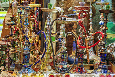Photograph - Hookahs by Patricia Hofmeester
