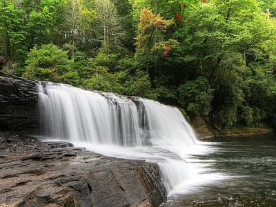 Photograph - Hooker Falls Dupont State Forest by Carol Montoya