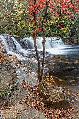 Photograph - Hooker Falls In Early Autumn by Willie Harper