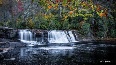 Photograph - Hooker Falls by Walt Baker