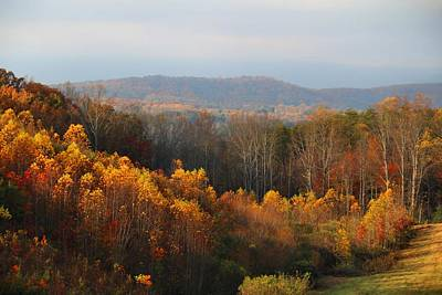 Photograph - Hooker Road In Autumn by Kathryn Meyer
