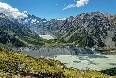 Photograph - Hooker Valley And Mount Cook by Martin Capek