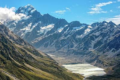 Photograph - Hooker Valley by Martin Capek