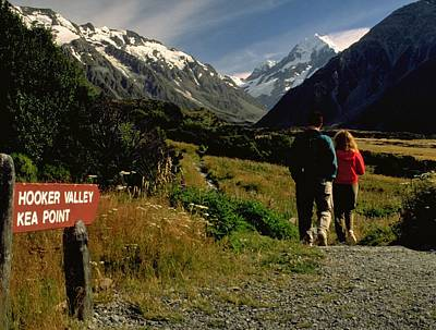 Landscape Travelpics Photograph - Hooker Valley Or Key Point by Travel Pics
