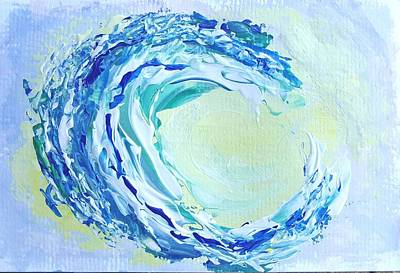 Painting - Ho'okipa Curl by Fred Wilson