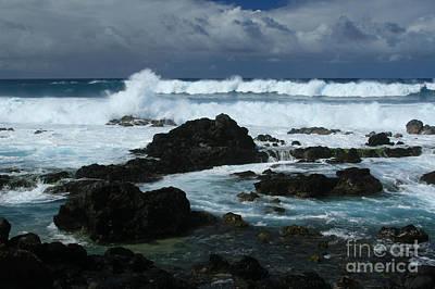 Photograph - Hookipa Maui North Shore Hawaiian Islands by Sharon Mau