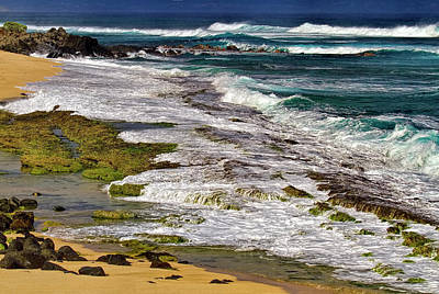 Outlook Photograph - Ho'okipa Shoreline by Marcia Colelli