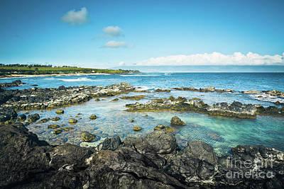 Photograph - Hookipa Sunrise On The North Shore Maui Hawaii by Sharon Mau