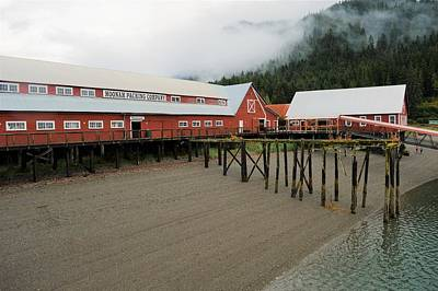 Photograph - Hoonah Packing Company by Cheryl Hoyle