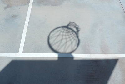Photograph - Hoop Shadow by Bill Tomsa