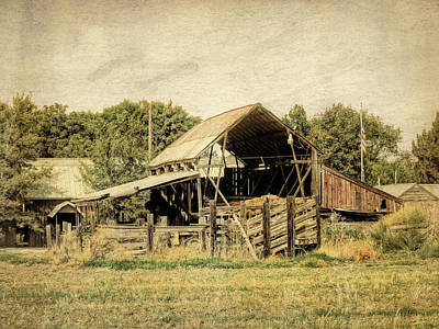Photograph - Hooper Hay Shed by David King