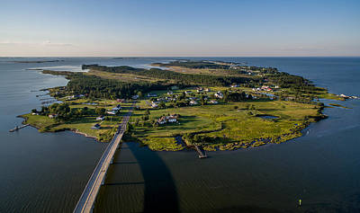Maryland Photograph - Hoopers Island By Air by Mid Atlantic Aerial