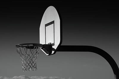 Basketball Abstract Photograph - Hoops by Richard Rizzo
