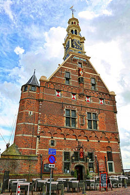 Photograph - Hoorn Tower by Carol Groenen