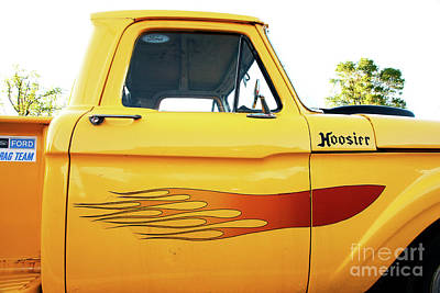 Photograph - Hoosier Ford Truck On Route 66 by John Rizzuto