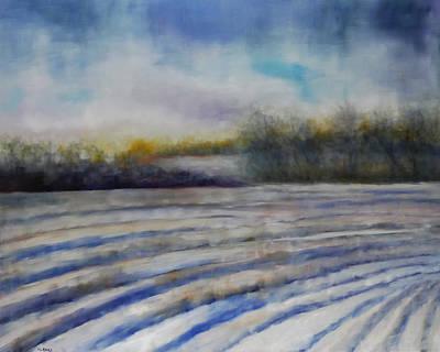 Hoosier Winter Original by Vicki Rees