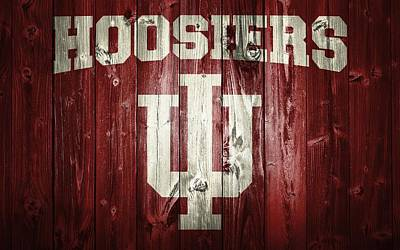 Athletes Digital Art - Hoosiers Barn Door by Dan Sproul