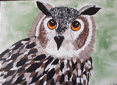 Painting - Hoot by Judi Goodwin