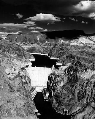 Hoover Dam, 1953 Art Print