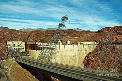 Photograph - Hoover Dam by Afrodita Ellerman