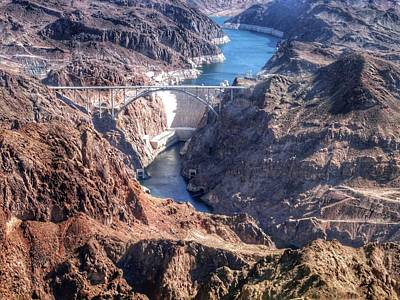 Photograph - Hoover Dam by Anne Sands