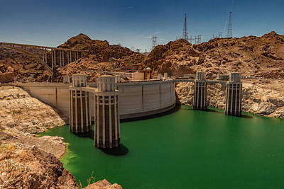 Photograph - Hoover Dam by Ed Clark