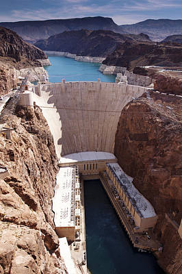 Hoover Dam II Print by Ricky Barnard