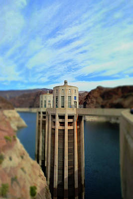Photograph - Hoover Dam Intake Towers No. 1 by Sandy Taylor