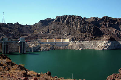 Photograph - Hoover Dam by Karen Harrison