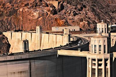 Photograph - Hoover Dam by Kim Wilson