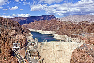 Photograph - Hoover Dam, Las Vegas by Tatiana Travelways