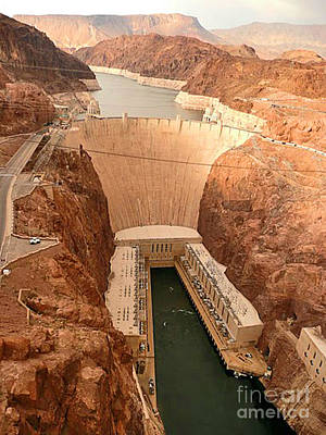 Photograph - Hoover Dam Scenic View by Angela L Walker