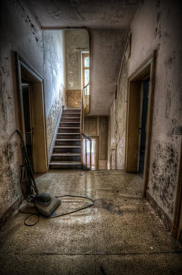 Old Home Place Digital Art - Hoover Halllway by Nathan Wright