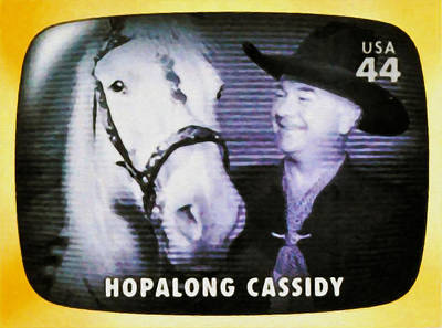 Broadcast Painting - Hopalong Cassidy by Lanjee Chee