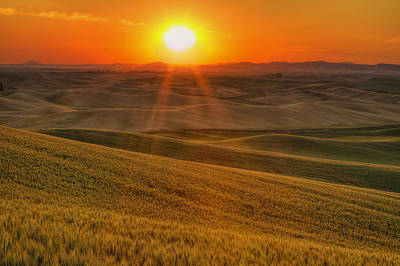 Sun Rays Photograph - Hope And Glory by Mark Kiver