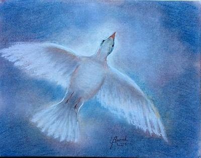 Painting - Hope And Peace by Laila Awad Jamaleldin