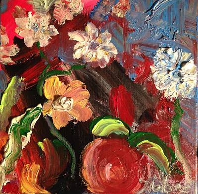 September 11 Painting - Hope Blooms From The Ashes by Helene Thomason