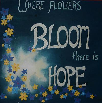 Amanda Clark Painting - Hope Blossoms by Amanda Clark
