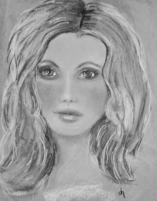 Luminous Drawing - Hope by Diane Noble