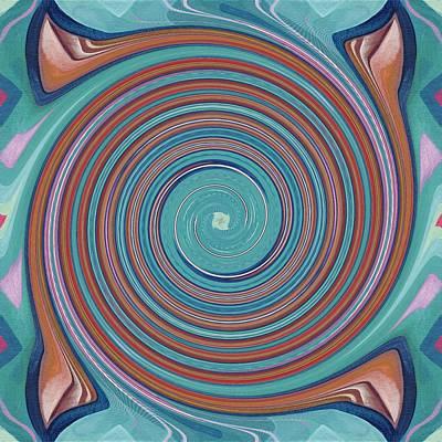 Hope Does Spring Eternal - T J O D 31 Arrangement 1 Swirled Art Print by Helena Tiainen