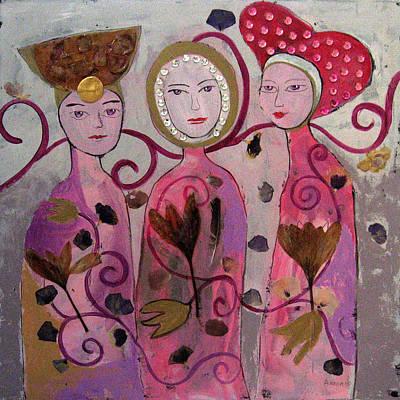 Hope Faith Love Art Print by Aliza Souleyeva-Alexander