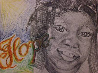 Hope For Haiti Art Print