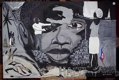 Painting - Hope For Haiti by Otis L Stanley