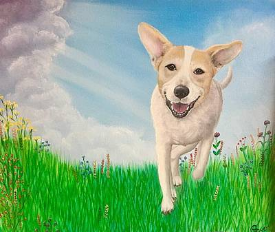 Wall Art - Painting - Hope For Lexi by Carol Iyer