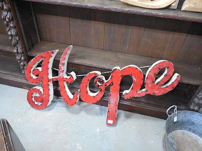 Listening Digital Art - Hope For Sale Sign by Cco
