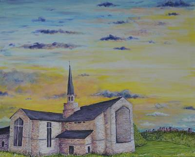 Seminary Painting - Hope For The People by DoraMichele Ferguson