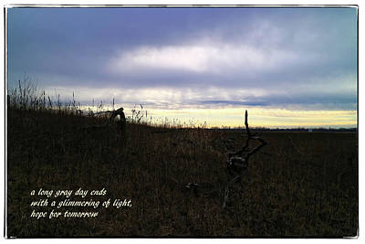 Photograph - Hope For Tomorrow by Scott Kingery