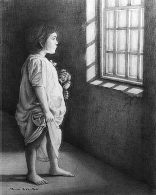 Drawing - Hope In Desolation by Mamie Greenfield